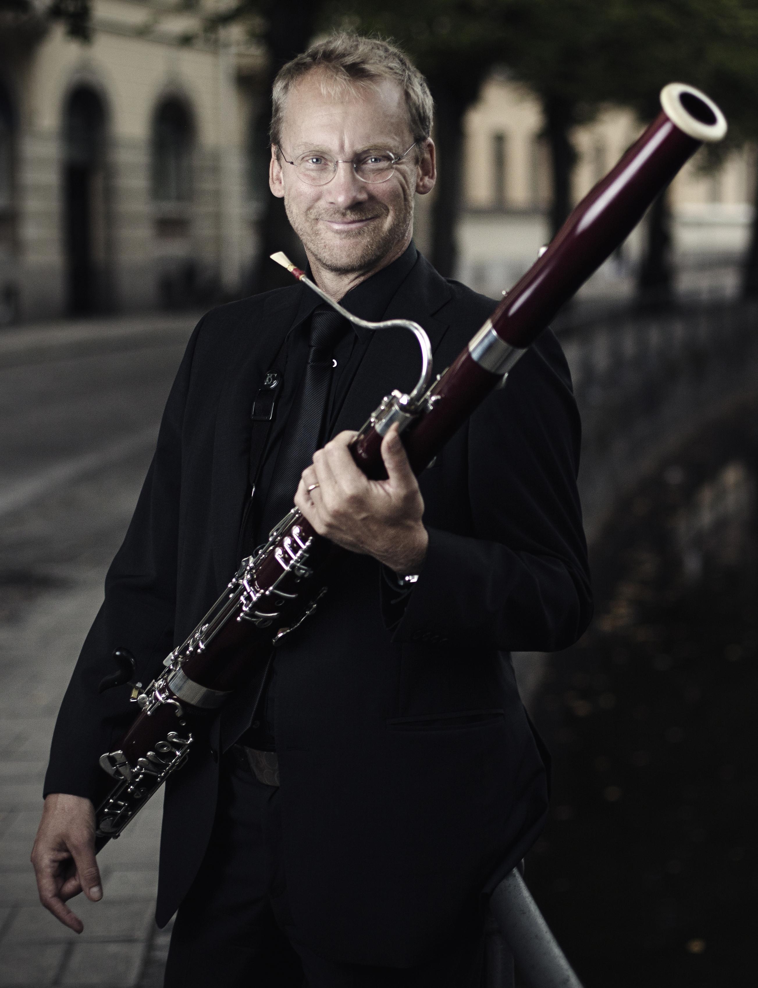 Mats Lindström, fagott. Fotograf Nikolaj Lund